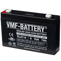 VMF AGM Batterie Standby und Zyklisch 6 V 7 Ah SLA7-6