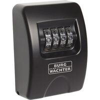 BURG-WÄCHTER Schlüsseltresor 10 SB Schwarz