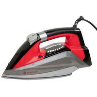 Singer Dampfbügeleisen Inox STI-7061 3100W Grau und Rot