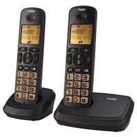 Fysic DECT Telefon für Senioren FX-5520 Duo Schwarz