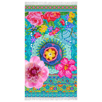 Happiness Strandtuch ADVENTURES 100×180 cm Mehrfarbig