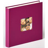 Walther Design Fotoalbum Fun 30x30 cm Violett 100 Seiten