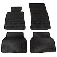 vidaXL Gummi-Fußmatten-Set 4-tlg. für BMW 5er-Reihe (E39)