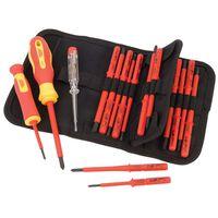 Draper Tools Spannungsprüfer + Schraubendreherset 18tlg isoliert 05776