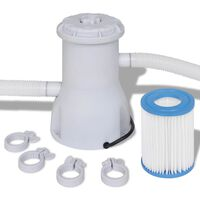 Filterpumpe Poolfilter Filter Pumpe Pool 530 gal / h