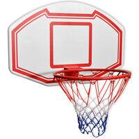 vidaXL Basketballkorb-Set 3-tlg. Wandmontierbar 90 x 60 cm