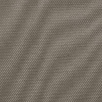 vidaXL Sonnensegel Oxford-Gewebe Rechteckig 3x5 m Taupe