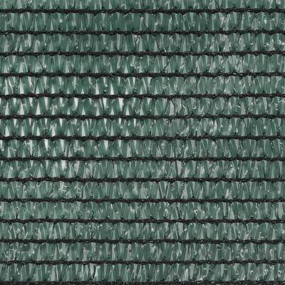 vidaXL Tennisblende HDPE 1x25 m Grün