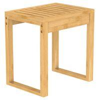 EISL Badezimmer Hocker Bambus 40x30x45 cm