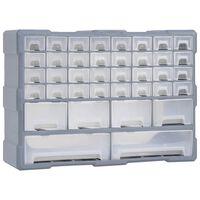 vidaXL Multi-Schubladen-Organizer mit 40 Schubladen 52x16x37,5 cm