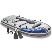 Intex Excursion 5 Schlauchboot-Set mit Rudern und Pumpe 68325NP