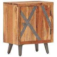 vidaXL Nachttisch 40×30×50 cm Akazie Massivholz