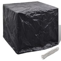 vidaXL Wassertank-Abdeckung 8 Ösen 116x100x120 cm