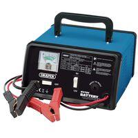 Draper Tools Batterieladegerät 25,8×14,5×25 cm 6/12 V 8,4 A