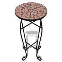 Beistelltisch Tisch Bistrotisch Blumenständer Terrakotta