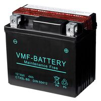 VMF Powersport Batterie Liquifix 12 V 4 Ah MF YTX5L-BS