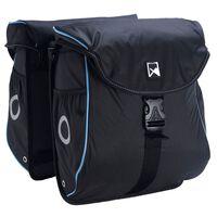 Willex Fahrradtaschen 300 Flexi 24 L Schwarz und Blau