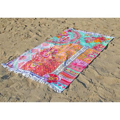 Happiness Strandtuch ZALIPIE 100×180 cm Mehrfarbig