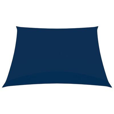 vidaXL Sonnensegel Oxford-Gewebe Quadratisch 4x4 m Blau