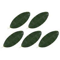 vidaXL Künstliche Blätter Banane 5 Stk. Grün 80 cm