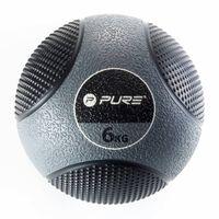 Pure2Improve Medizinball 6 kg Grau