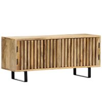 vidaXL TV-Schrank 90 x 30 x 40 cm Mango-Massivholz