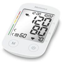 Medisana Oberarm-Blutdruckmessgerät BU 535 Voice Sprachausgabe Weiß