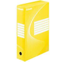 Esselte Archivbox 25 Stk. Gelb 80 mm