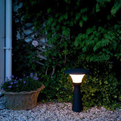 """Luxform Garten-Pollerleuchten """"Perth"""" 3 Stk. 12 V 43 cm Anthrazit 89336"""