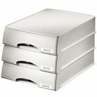 Leitz Plus Briefkorb-Schubladeneinheit Grau
