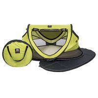 DERYAN Pop-up-Kinder-Reisebett mit Moskitonetz Luxe 2020 Limonengrün