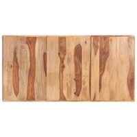 vidaXL Tischplatte Massivholz Palisander 16 mm 180 x 90 cm