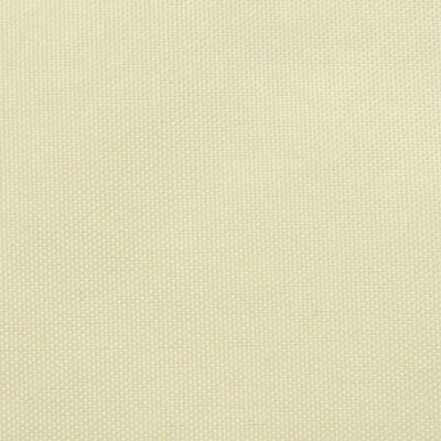 vidaXL Sonnensegel Oxford Gewebe Rechteckig 4 x 6 m Creme