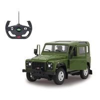 Jamara Ferngesteuerter Geländewagen Land Rover Defender Grün 1:14