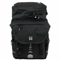 Willex Fahrradtaschen mit Obertasche XL 1200 65 L Schwarz 13411