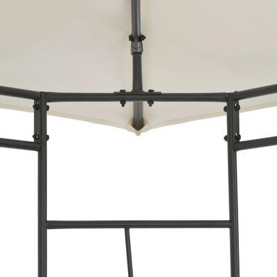 vidaXL Pavillon 300×300×300 cm Creme Quadratisch