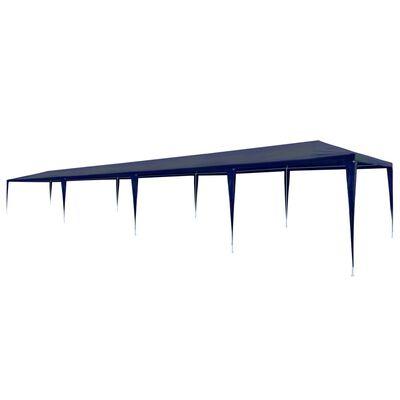 vidaXL Partyzelt 3 x 12 m PE Blau