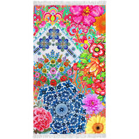 Happiness Strandtuch ZAIRA 100×180 cm Mehrfarbig