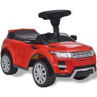 Land Rover 348 Kinder-Rutschauto mit Musik Rot