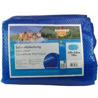 Summer Fun Sommer Poolabdeckung Solar Oval 600x320 cm PE Blau