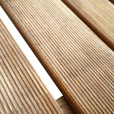 vidaXL Terrassendielen 6 Stk. 50×50 cm Holz Braun