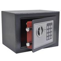 vidaXL Elektronischer Digital-Safe 23x17x17 cm