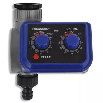 vidaXL Bewässerungscomputer Zeitschaltuhr mit Regensensor