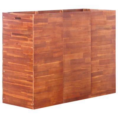 vidaXL Garten-Hochbeet Akazienholz 150x50x100 cm
