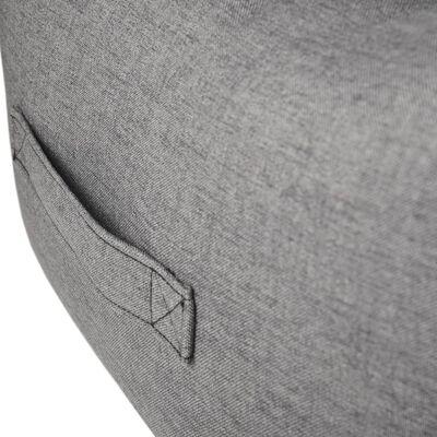 FLAMINGO Hundebett mit Reißverschluss Dream Away Grau 90x70 cm