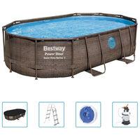 Bestway Power Steel Pool-Set 488x305x107 cm