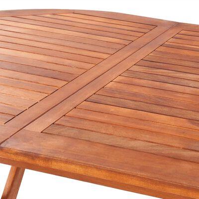 vidaXL Gartentisch 160x85x75 cm Akazie Massivholz