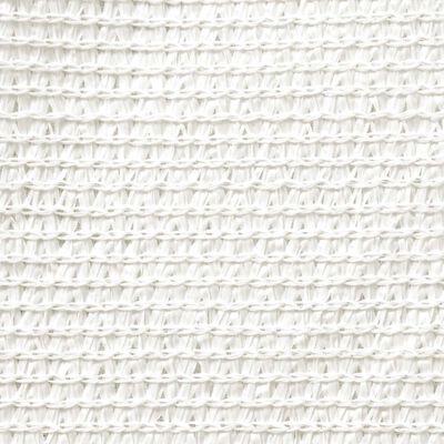 vidaXL Sonnensegel HDPE Rechteckig 4 x 6 m Weiß