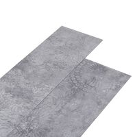 vidaXL PVC-Laminat-Dielen 4,46 m² 3 mm Selbstklebend Zementgrau