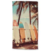 Good Morning Strandtuch VINTAGE SURF 100x180 cm Mehrfarbig